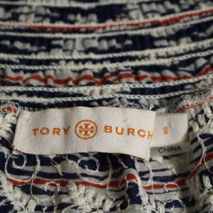 Tory Burch Tops - Tory Burch Nadia Floral Embroidered Smocked Shirt